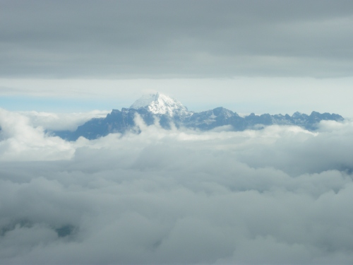 The Mountains Through The Clouds