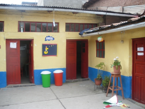 The school for the younger kids.